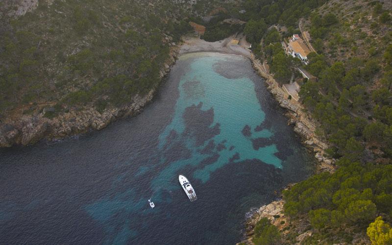 calas escondidas en Mallorca